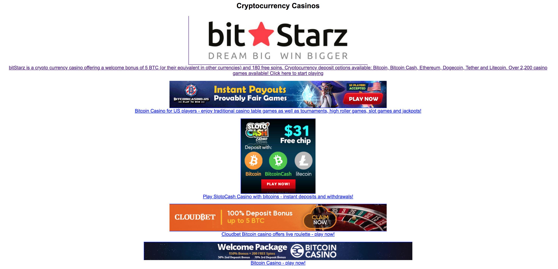 Bitcoin slot machine jquery